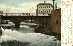 Main Street Bridge and Pawtucket Falls