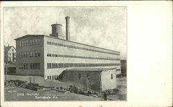 Keith Shoe Factory Postcard