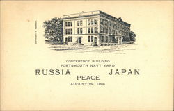 Conference Building, Portsmouth Navy Yard Postcard