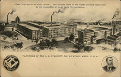 Factories of the L. S. Starrett Co.