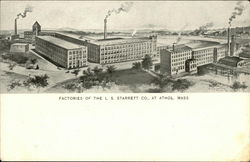 Factories of the L.S. Starrett Co.