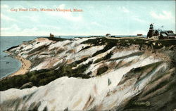 Gay Head Cliffs, Martha's Vineyard Postcard