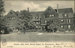 State Normal School - Crocker Hall