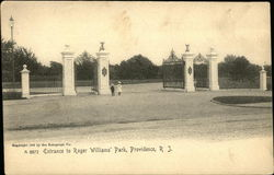 Entrance to Roger Williams' Park