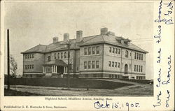 Highland School, Middlesex Avenue