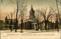 Presbyterian Church, Manse and W. H. Moore's Residence