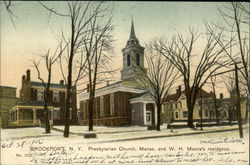 Presbyterian Church Manse and W. H. Moore's Residence