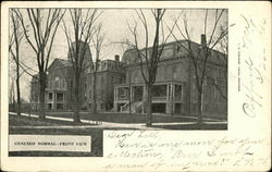Geneseo Normal - Front View Postcard