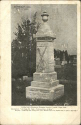 Gurdon Cady's Monument, Evergreen Cemetary, Central Village