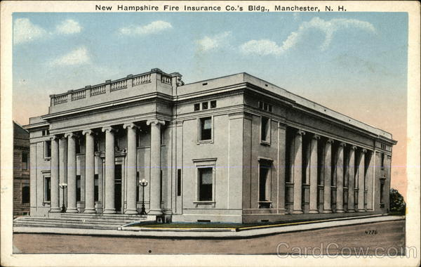 New Hampshire Fire Insurance Co.'s Bldg. Manchester