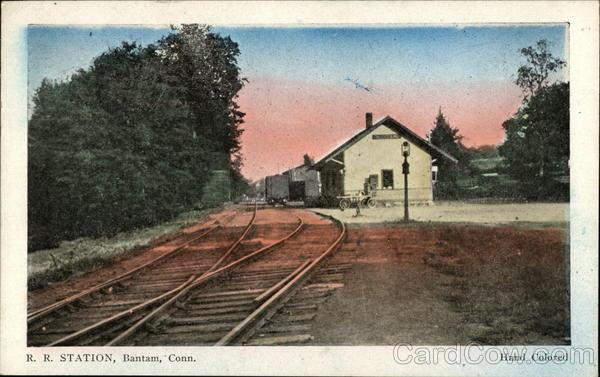 R. R. Station Bantam Connecticut