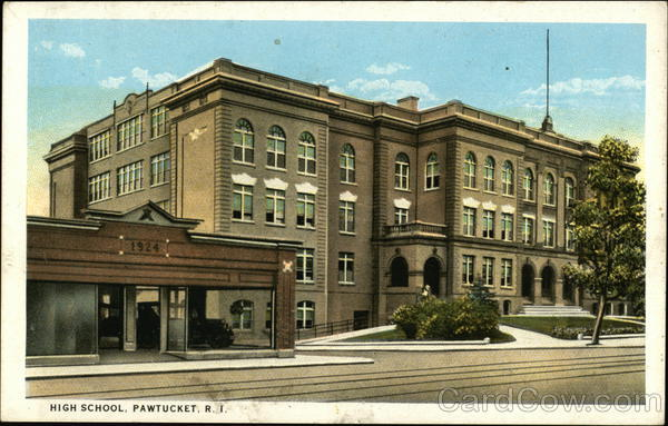 High School Pawtucket Rhode Island