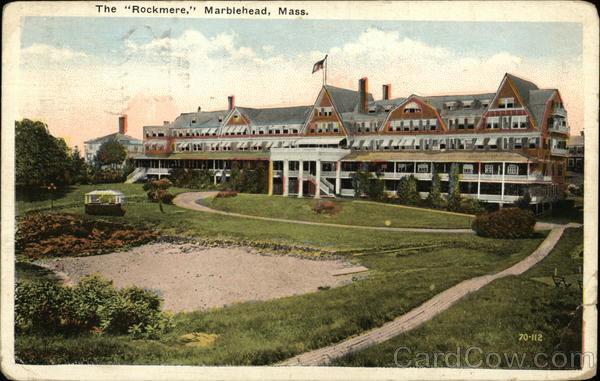 The Rockmere and Grounds Marblehead Massachusetts
