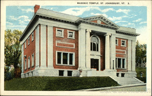 Street View of Masonic Temple St. Johnsbury Vermont