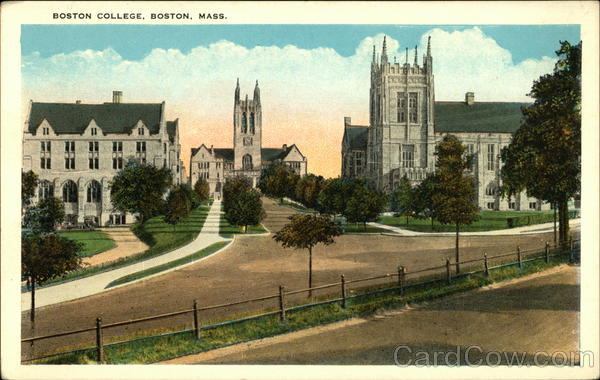 Boston College Massachusetts