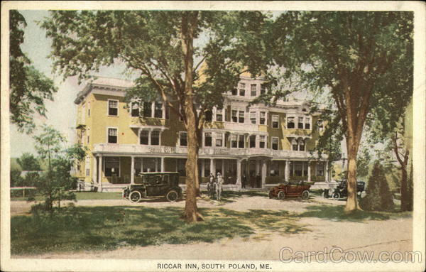 Riccar Inn South Poland Maine