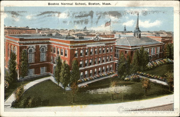 Boston Normal School Massachusetts