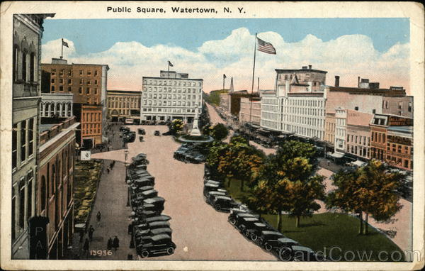 Public Square Watertown New York