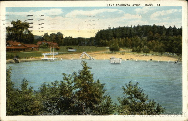 Lake Rohunta Athol Massachusetts