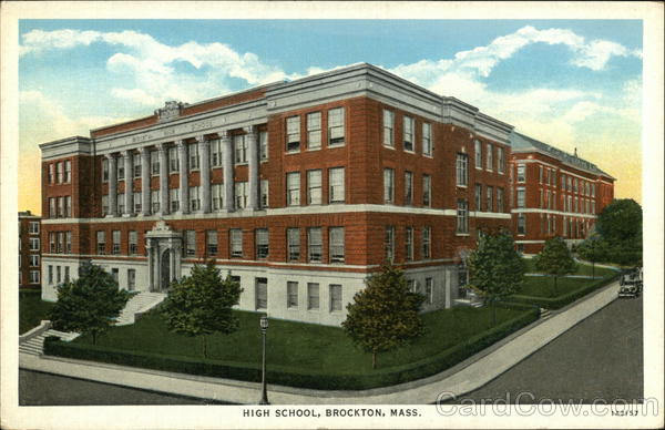 High School Brockton Massachusetts