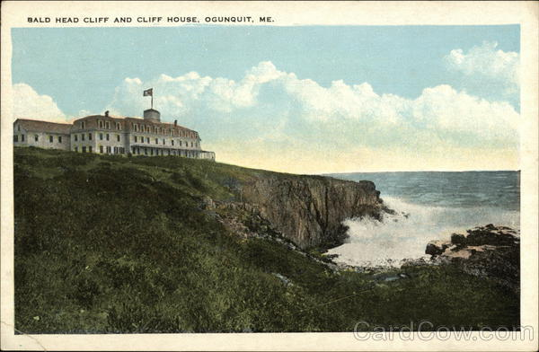 Bald Head Cliff and Cliff House Ogunquit Maine