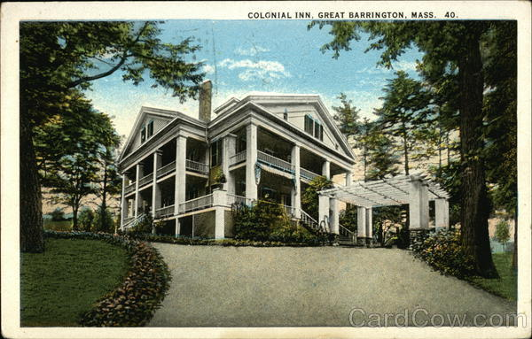 Colonial Inn Great Barrington Massachusetts