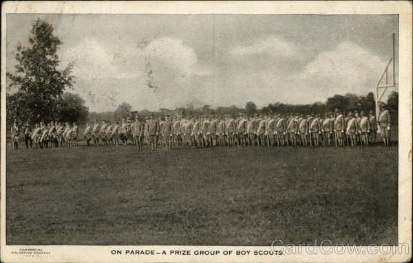 Boy Scouts - On Parade