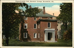 Bowdoin College - Massachusetts Hall