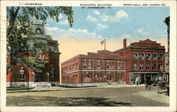 Athenaeum, Municipal Building and Berry-Ball Dry Goods Co.