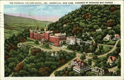 The Physical Culture Hotel founded By Bernarr MacFadden Postcard