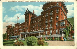 Physical Culture Hotel, Founded by Bernarr MacFadden Postcard