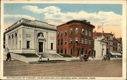 Savings Bank of Danbury, Union Bank and City National Bank