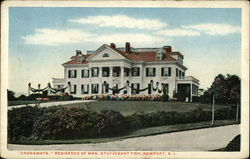 """Crossways"", Residence of Mrs. Stuyvesant Fish"