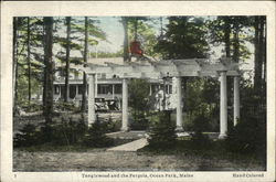 Tanglewood and Pergola Postcard