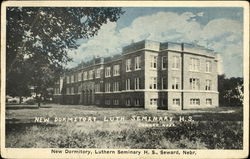 New Dormitory, Luthern Seminary H. S.