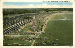 Cleveland Airport During Air Races