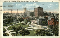 Bird's-Eye View of Court House Park