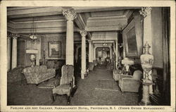 Parlor and Art Gallery, Narragansett Hotel