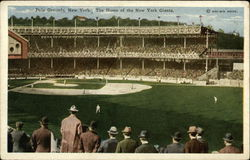 Polo Grounds - Homeof the New York Giants
