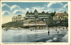 Atlantic House and Bath House, Nantaskett Beach