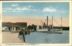 Mt. Washington Steamer, Center Harbor