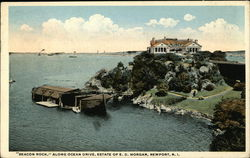 """Beacon Rock"" Along Ocean Drive, Estate of E. D. Morgan"