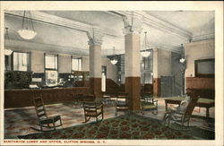 Sanitarium Lobby and Office