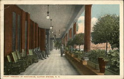 Front Veranda of Sanitarium