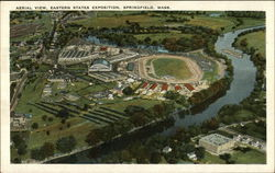 Aerial View Eastern States Exposition