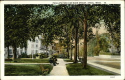 Philips Park and Main Street