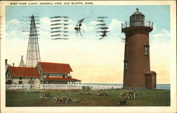 East Chop Light, Genral View