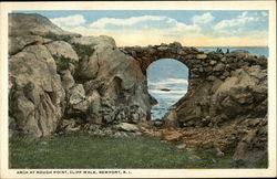 Arch At Rough Point, Cliff Walk