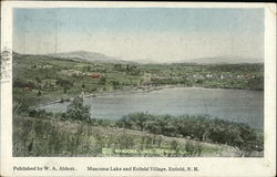 Mascoma Lake and Enfield Village Postcard