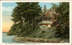 Col. Knight;'s Cottage, The Cascades